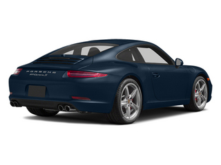 Dark Blue Metallic 2014 Porsche 911 Pictures 911 Coupe 2D Turbo AWD H6 photos rear view