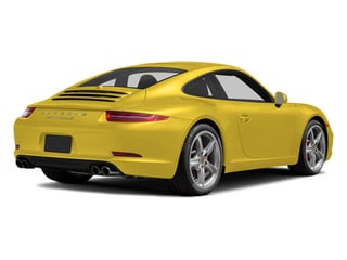 Racing Yellow 2014 Porsche 911 Pictures 911 Coupe 2D Turbo AWD H6 photos rear view