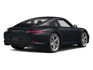 Basalt Black Metallic 2014 Porsche 911 Pictures 911 Coupe 2D Turbo AWD H6 photos rear view