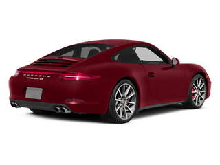 Amaranth Red Metallic 2014 Porsche 911 Pictures 911 Coupe 2D 4S AWD H6 photos rear view