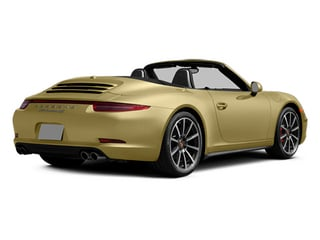 Lime Gold Metallic 2014 Porsche 911 Pictures 911 Cabriolet 2D 4 AWD H6 photos rear view