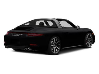Black 2014 Porsche 911 Pictures 911 Coupe 2D 4 Targa AWD photos rear view