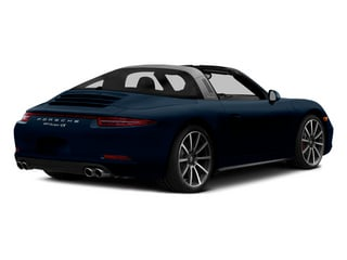 Dark Blue Metallic 2014 Porsche 911 Pictures 911 Coupe 2D 4 Targa AWD photos rear view