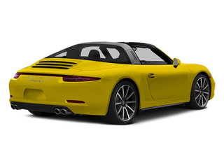 Racing Yellow 2014 Porsche 911 Pictures 911 Coupe 2D 4S Targa AWD photos rear view