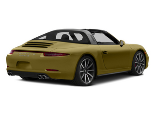 Lime Gold Metallic 2014 Porsche 911 Pictures 911 Coupe 2D 4 Targa AWD photos rear view