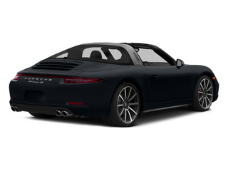 Basalt Black Metallic 2014 Porsche 911 Pictures 911 Coupe 2D 4 Targa AWD photos rear view