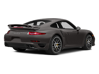 Anthracite Brown Metallic 2014 Porsche 911 Pictures 911 Coupe 2D Turbo S AWD H6 photos rear view