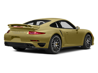 Lime Gold Metallic 2014 Porsche 911 Pictures 911 Coupe 2D Turbo S AWD H6 photos rear view
