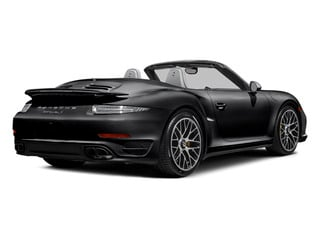 Black 2014 Porsche 911 Pictures 911 Cabriolet 2D AWD H6 Turbo photos rear view