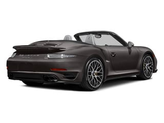 Anthracite Brown Metallic 2014 Porsche 911 Pictures 911 Cabriolet 2D AWD H6 Turbo photos rear view