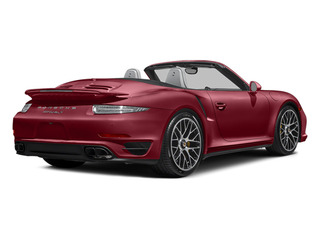 Amaranth Red Metallic 2014 Porsche 911 Pictures 911 Cabriolet 2D AWD H6 Turbo photos rear view