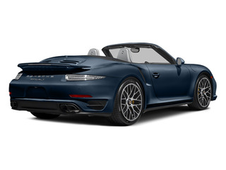 Dark Blue Metallic 2014 Porsche 911 Pictures 911 Cabriolet 2D AWD H6 Turbo photos rear view