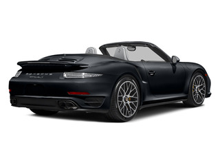 Basalt Black Metallic 2014 Porsche 911 Pictures 911 Cabriolet 2D AWD H6 Turbo photos rear view