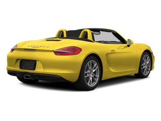 Racing Yellow 2014 Porsche Boxster Pictures Boxster Roadster 2D H6 photos rear view