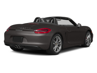 Anthracite Brown Metallic 2014 Porsche Boxster Pictures Boxster Roadster 2D S H6 photos rear view