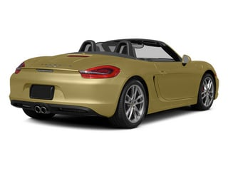 Lime Gold Metallic 2014 Porsche Boxster Pictures Boxster Roadster 2D S H6 photos rear view