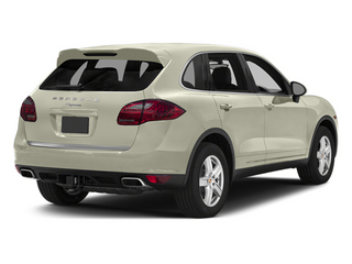 Carrara White Metallic 2014 Porsche Cayenne Pictures Cayenne Utility 4D Platinum AWD V6 T-Diesel photos rear view
