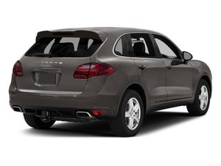 Meteor Gray Metallic 2014 Porsche Cayenne Pictures Cayenne Utility 4D Platinum AWD V6 T-Diesel photos rear view