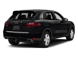 Black 2014 Porsche Cayenne Pictures Cayenne Utility 4D Platinum AWD V6 T-Diesel photos rear view