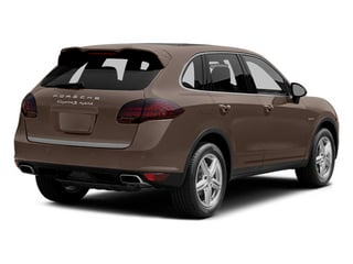 Umber Metallic 2014 Porsche Cayenne Pictures Cayenne Utility 4D S AWD Hybrid V6 photos rear view