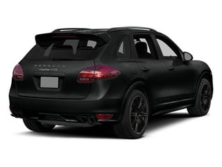Jet Black Metallic 2014 Porsche Cayenne Pictures Cayenne Utility 4D GTS AWD V8 photos rear view