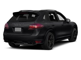 Black 2014 Porsche Cayenne Pictures Cayenne Utility 4D GTS AWD V8 photos rear view