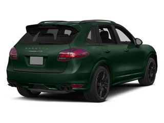 Jet Green Metallic 2014 Porsche Cayenne Pictures Cayenne Utility 4D GTS AWD V8 photos rear view