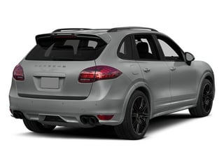 Classic Silver Metallic 2014 Porsche Cayenne Pictures Cayenne Utility 4D GTS AWD V8 photos rear view