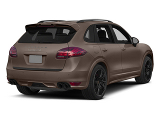 Umber Metallic 2014 Porsche Cayenne Pictures Cayenne Utility 4D GTS AWD V8 photos rear view
