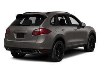 Meteor Gray Metallic 2014 Porsche Cayenne Pictures Cayenne Utility 4D AWD V8 Turbo photos rear view