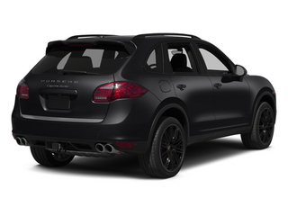 Black 2014 Porsche Cayenne Pictures Cayenne Utility 4D AWD V8 Turbo photos rear view