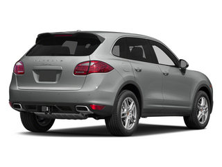 Classic Silver Metallic 2014 Porsche Cayenne Pictures Cayenne Utility 4D AWD V6 photos rear view