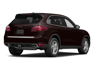 Mahogany Metallic 2014 Porsche Cayenne Pictures Cayenne Utility 4D AWD V6 photos rear view