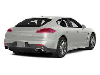 White 2014 Porsche Panamera Pictures Panamera Hatchback 4D S V6 Turbo photos rear view