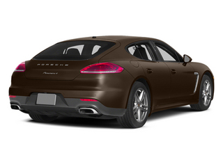 Chestnut Brown Metallic 2014 Porsche Panamera Pictures Panamera Hatchback 4D S AWD V8 Turbo photos rear view