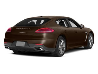 Chestnut Brown Metallic 2014 Porsche Panamera Pictures Panamera Hatchback 4D S V6 Turbo photos rear view