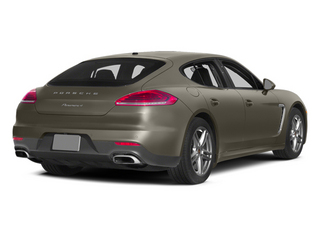 Palladium Metallic 2014 Porsche Panamera Pictures Panamera Hatchback 4D S AWD V8 Turbo photos rear view