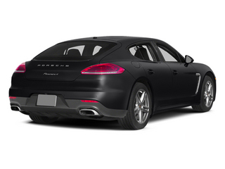 Black 2014 Porsche Panamera Pictures Panamera Hatchback 4D S V6 Turbo photos rear view