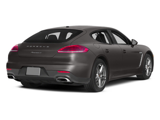 Agate Gray Metallic 2014 Porsche Panamera Pictures Panamera Hatchback 4D S V6 Turbo photos rear view