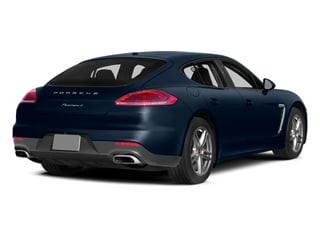 Dark Blue Metallic 2014 Porsche Panamera Pictures Panamera Hatchback 4D S AWD V8 Turbo photos rear view