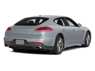 Rhodium Silver Metallic 2014 Porsche Panamera Pictures Panamera Hatchback 4D S AWD V8 Turbo photos rear view