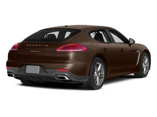 Cognac Metallic 2014 Porsche Panamera Pictures Panamera Hatchback 4D S V6 Turbo photos rear view
