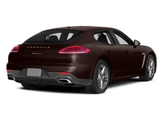 Mahogany Metallic 2014 Porsche Panamera Pictures Panamera Hatchback 4D S V6 Turbo photos rear view