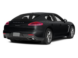 Basalt Black Metallic 2014 Porsche Panamera Pictures Panamera Hatchback 4D S V6 Turbo photos rear view