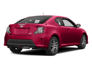 Absolutely Red 2014 Scion tC Pictures tC Liftback 3D Monogram I4 photos rear view