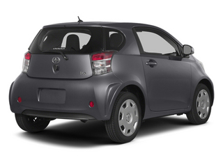 Magnetic Gray Metallic 2014 Scion iQ Pictures iQ Hatchback 3D I4 photos rear view