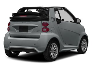 Silver Metallic 2014 smart fortwo electric drive Pictures fortwo electric drive Convertible 2D Electric photos rear view
