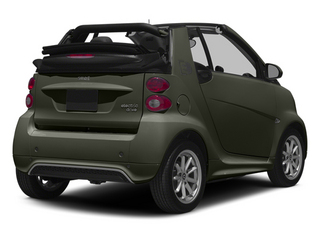 Gray Metallic 2014 smart fortwo electric drive Pictures fortwo electric drive Convertible 2D Electric photos rear view