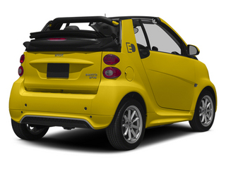 Clear Flame Yellow 2014 smart fortwo electric drive Pictures fortwo electric drive Convertible 2D Electric photos rear view