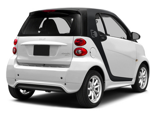 Crystal White 2014 smart fortwo electric drive Pictures fortwo electric drive Coupe 2D Electric photos rear view